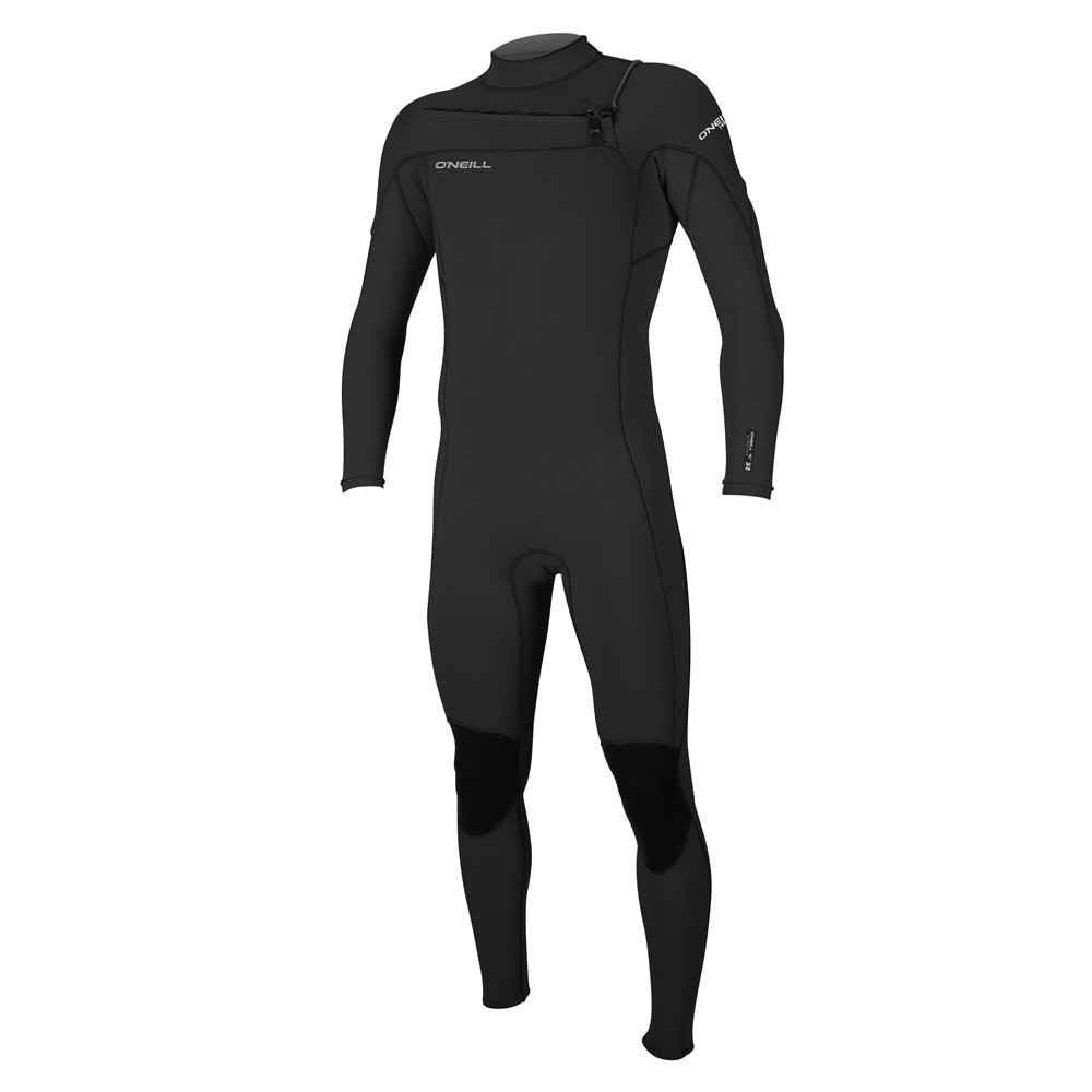 HAMMER CHEST ZIP FULLSUIT 3/2 BLACK